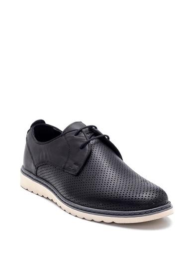 Derimod Erkek Deri Casual Ayakkabı Siyah